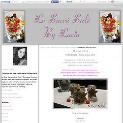 THERMOMIX : Petits pots à offrir - Le SuCré - Le Salé - Idées ReCeTTeS By LuCiA