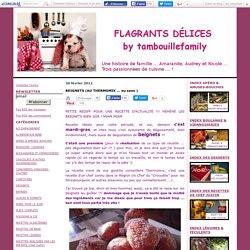 BEIGNETS (AU THERMOMIX ... ou sans ) - FLAGRANTS DELICES by Tambouillefamily
