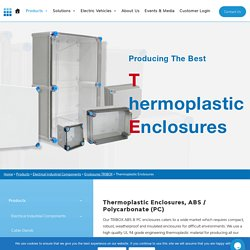 Thermoplastic Enclosures