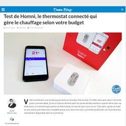 Test de Homni, le thermostat connecté qui gère le chauffage selon votre budget -