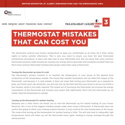 3 Common Fall Thermostat Mistakes That Could Cost You Money