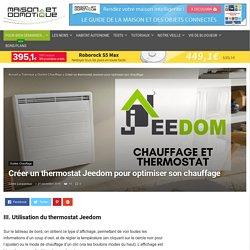 Créer un thermostat Jeedom pour optimiser son chauffage - Page 2 sur 2