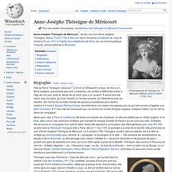 Anne-Josèphe Théroigne de Méricourt
