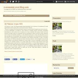 CE Thérond, 4 mars 1910 - Le blog de e-economie.over-blog.com