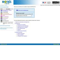 Thésaurus MOTBIS