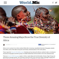 These Amazing Maps Show the True Diversity of Africa