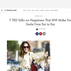 These Are the Best TED Talks on Happiness