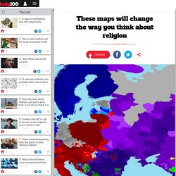 These maps will change the way you think about religion