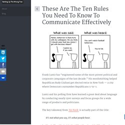 The 10 Rules You Need to Communicate Effectively