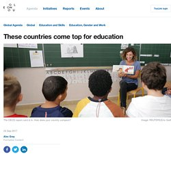 These countries come top for education
