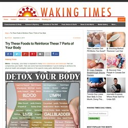 Try These Foods to Reinforce These 7 Parts of Your Body : Waking Times