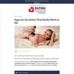 These Apps Will Immediately Improve Your Sex Dates
