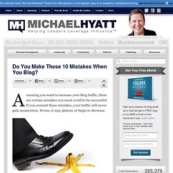 Do You Make These 10 Mistakes When You Blog?