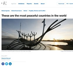 These are the most peaceful countries in the world