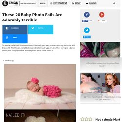 These 20 Baby Photo Fails Are Adorably Terrible