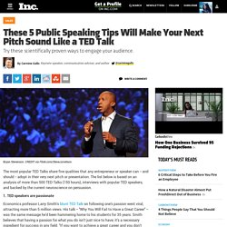 These 5 Public Speaking Tips Will Make Your Next Pitch Sound Like a TED Talk