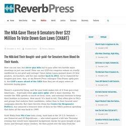 The NRA Gave These Senators Millions To Block Gun Laws