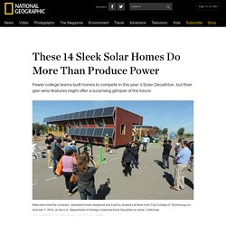 These 14 Sleek Solar Homes Do More Than Produce Power
