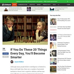 how to become smarter everyday
