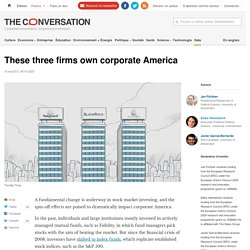 These three firms own corporate America