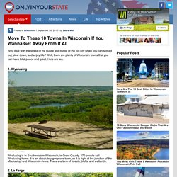 10 towns in Wis.