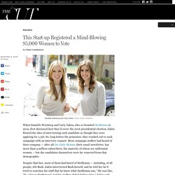 How theSkimm Registered 110,000 People to Vote