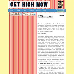 Theta Wave Brain Synchronization « Get High Now
