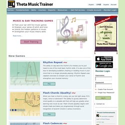Theta Music Trainer | Online Ear Training Games
