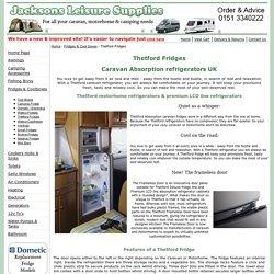 Thetford fridge