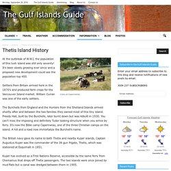 Thetis Island History