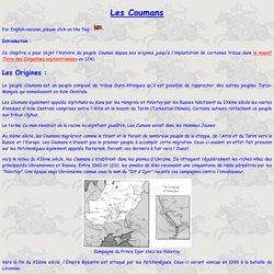 Theudericus : Les Coumans, peuple des Steppes