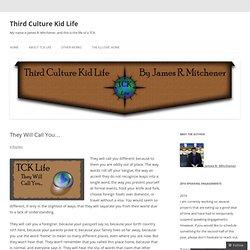 Third Culture Kid Life