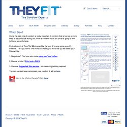 TheyFit — Which Size?