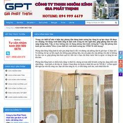 Thiết kế phòng tắm đứng kính cường lực giá tốt - Gia Thịnh Phát