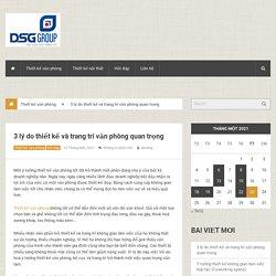 3 lý do thiết kế và trang trí văn phòng quan trọng - Thiết kế nội thất văn phòng - ArtDesign