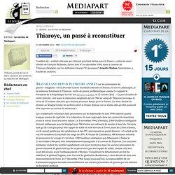 Thiaroye, un passé à reconstituer