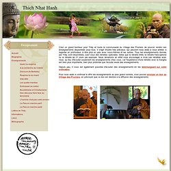 Thich Nhat hanh Enseignements