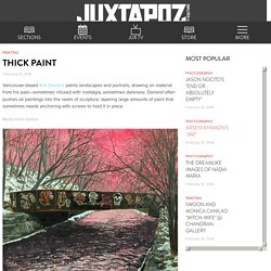 Thick Paint