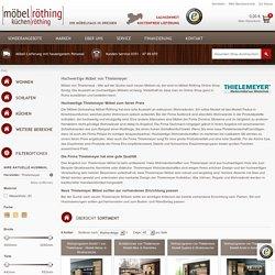 Thielemeyer Möbel kaufen - Möbel von Thielemeyer online bestellen - Thielemeyer Möbel kaufen - Möbel von Thielemeyer online bestellen