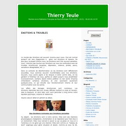 Thierry Teule » EMOTIONS & TROUBLES