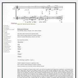 Thierry Machuel - Opus 49 : Nocturnes de Clairvaux