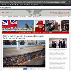 Thierry Noir, le premier à avoir peint le mur de Berlin expose à Londres