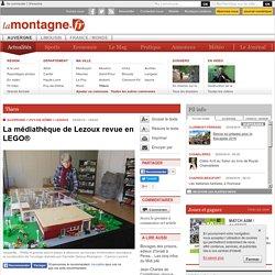 Thiers - LEZOUX (63190) - La médiathèque de Lezoux revue en LEGO®