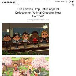 100 Thieves' Animal Crossing Apparel Collection