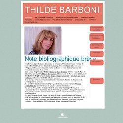 Thilde Barboni