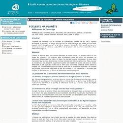 Thimothée de Fombelle - Céleste ma planète - Université Angers