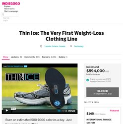 Thin Ice: The Very First Weight-Loss Clothing Line