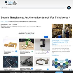 Search Thingiverse: An Alternative Search For Thingiverse? « Fabbaloo