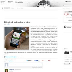 ThingLink anime les photos