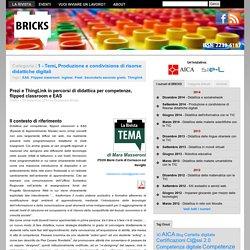 Prezi e ThingLink in percorsi di didattica per competenze, flipped classroom e EAS
